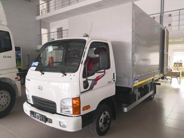 Hyundai HD 35 (борт тент НАЗ)