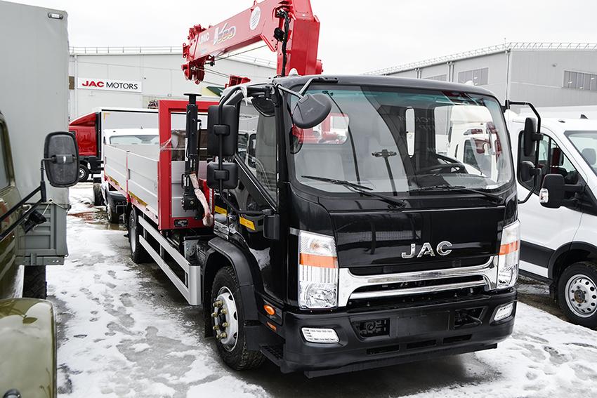 Jac N120 с КМУ UNIC V-550