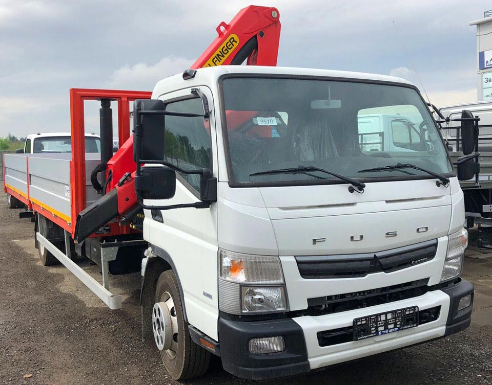 FUSO Canter TF (Euro V) с КМУ PALFINGER