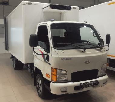 Hyundai HD 35 (сэндвич фургон ЦТТМ рефрижератор)