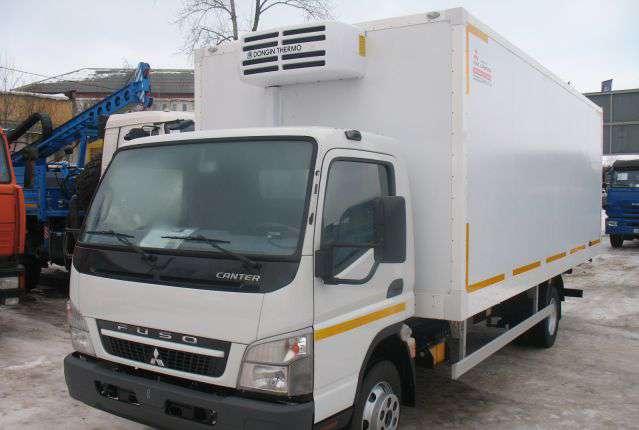 а/м FUSO Canter с изотермическим фургоном из сэндвич-панелей ( 6200х2200х2200 ) с рефрижератором TerraFrigo S-40 12/24V
