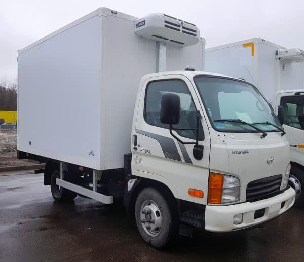 Hyundai HD 35 City рефрижератор (сэндвич фургон АМЗ)