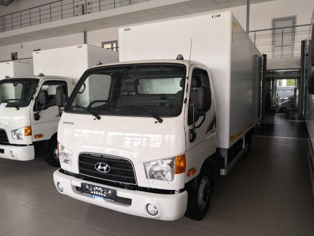 Hyundai HD 78 с сэндвич-фургоном ЦTTМ (высокая изотермичность)