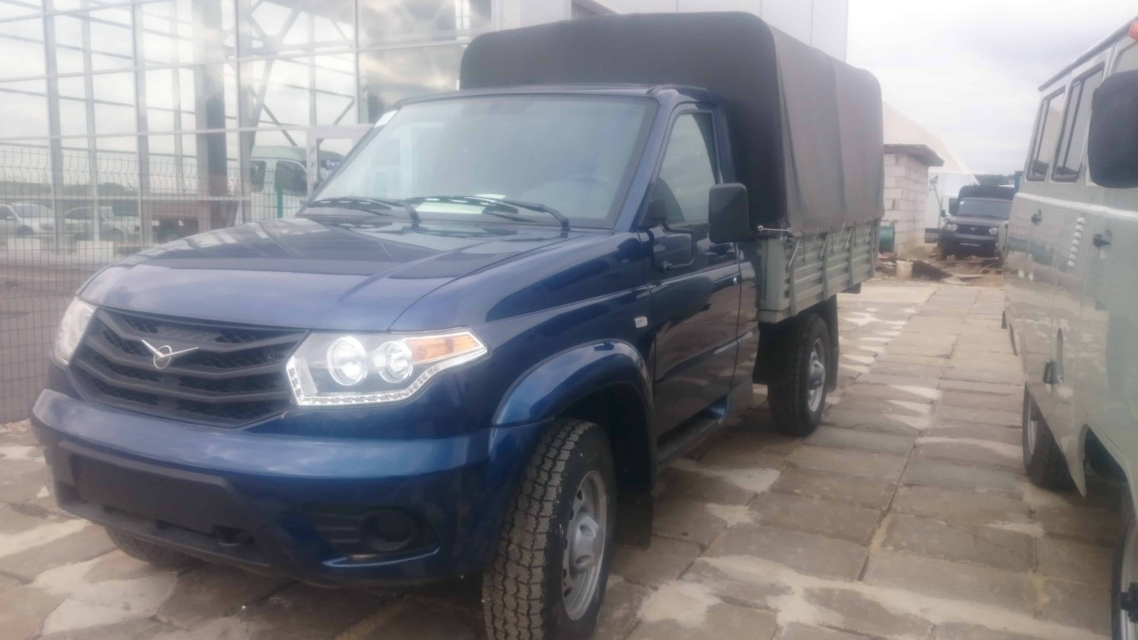 УАЗ 23602 Карго Бортовой Тентованный