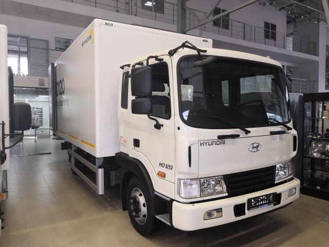 Hyundai HD 120 Сэндвич фургон высокой изотермичности