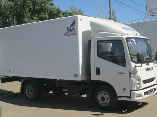 NAVECO c-300 с промтоварным фургоном