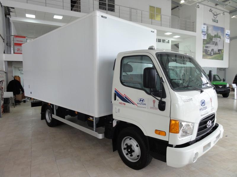 (Hyundai) Хендай HD 78 Европром длина 5.5м