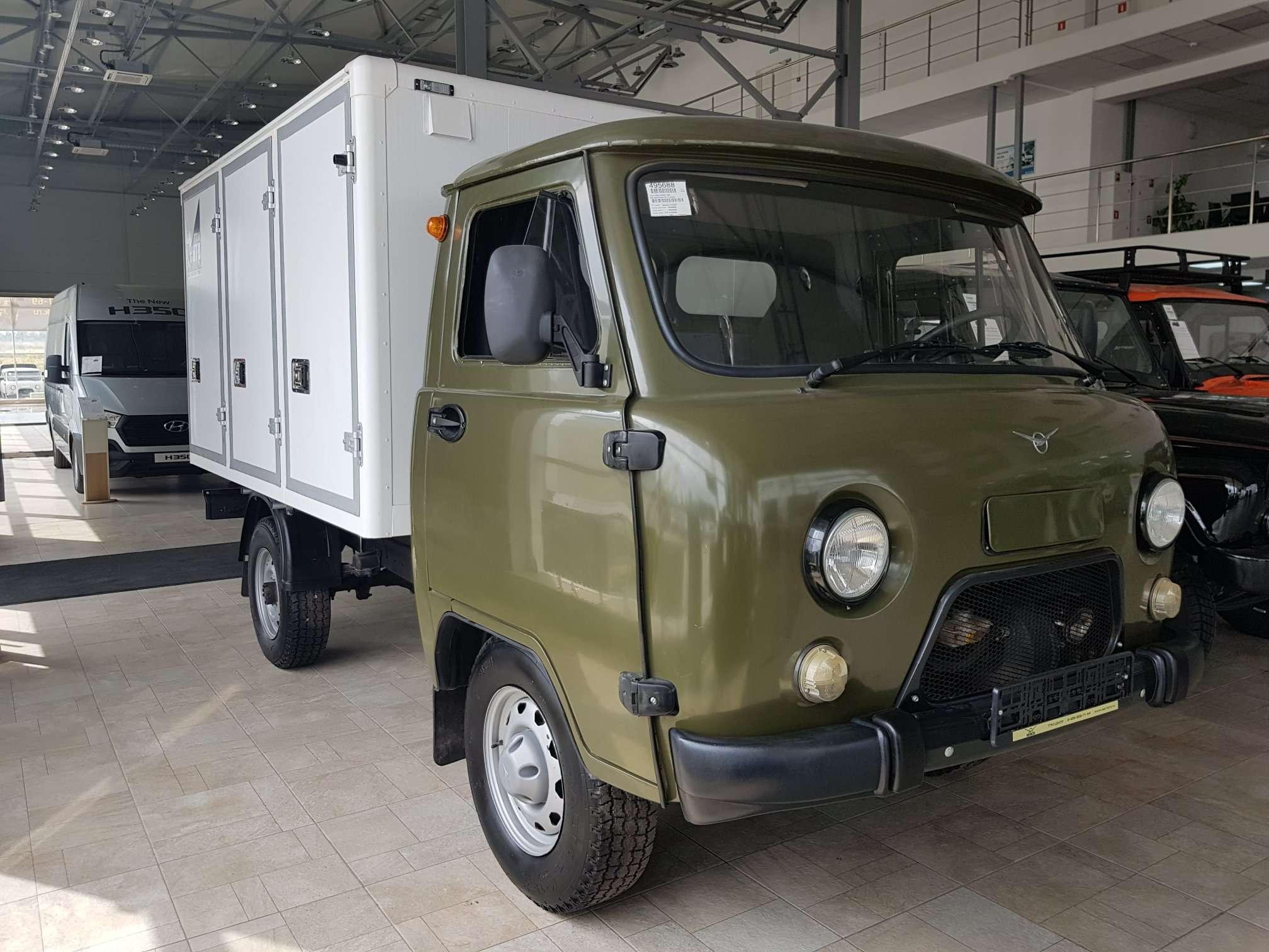 УАЗ 330365 с Фургоном для перевозки хлебобулочных изделий